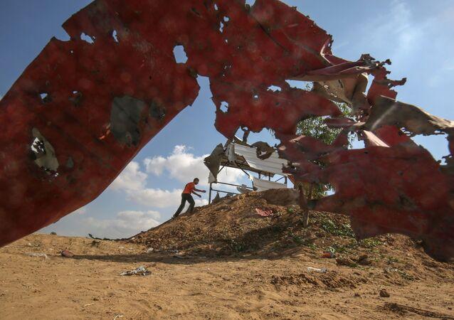 Consecuencias de los ataques israelíes en Gaza