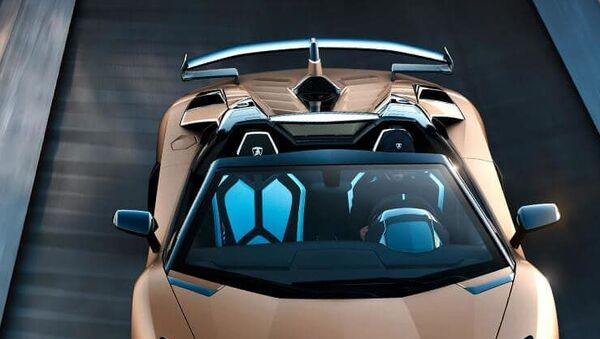 El Aventador SVJ Roadster de Lamborghini - Sputnik Mundo