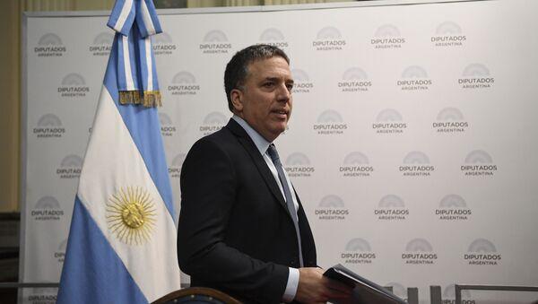 Nicolás Dujovne, ministro de Hacienda de la Argentina - Sputnik Mundo