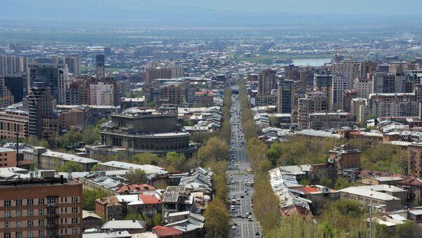Ereván, capital de Armenia (Archivo) - Sputnik Mundo