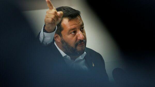 Matteo Salvini, ministro del Interior de Italia - Sputnik Mundo