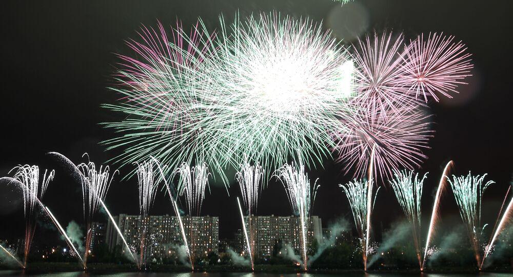 Festival Internacional de Fuegos Artificiales Rostec 2019