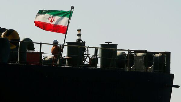 El petrolero iraní Adrian Darya, antes llamado Grace 1 - Sputnik Mundo