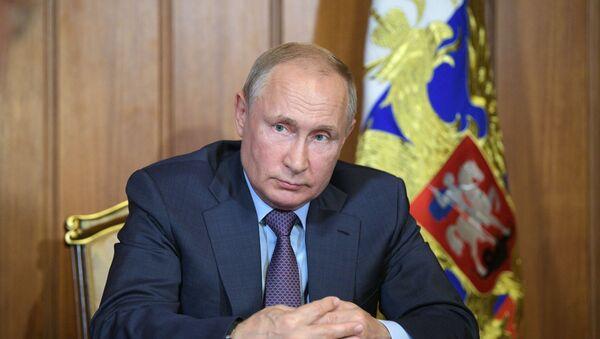 El presidente de Rusia, Vladímir Putin - Sputnik Mundo