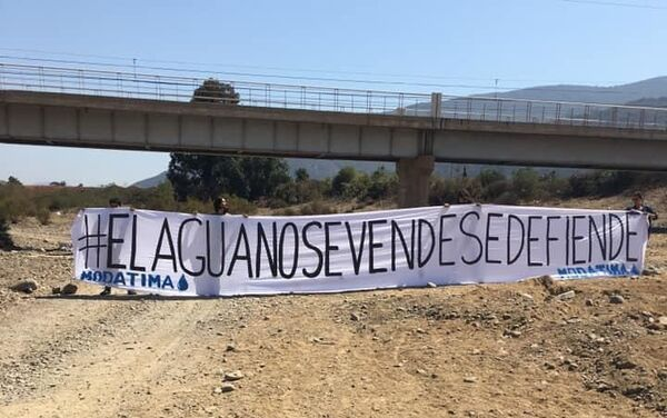 Sequía en Petorca, Chile - Sputnik Mundo