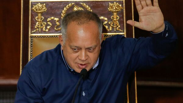 Diosdado Cabello, el presidente de la Asamblea Nacional Constituyente (ANC) de Venezuela - Sputnik Mundo