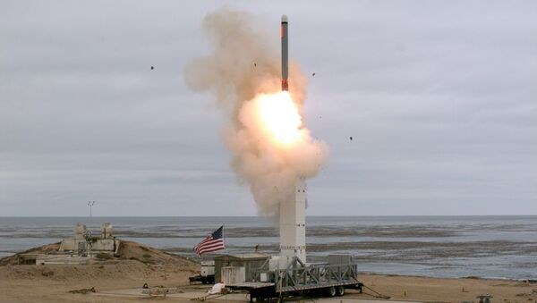 La prueba del misil crucero - Sputnik Mundo