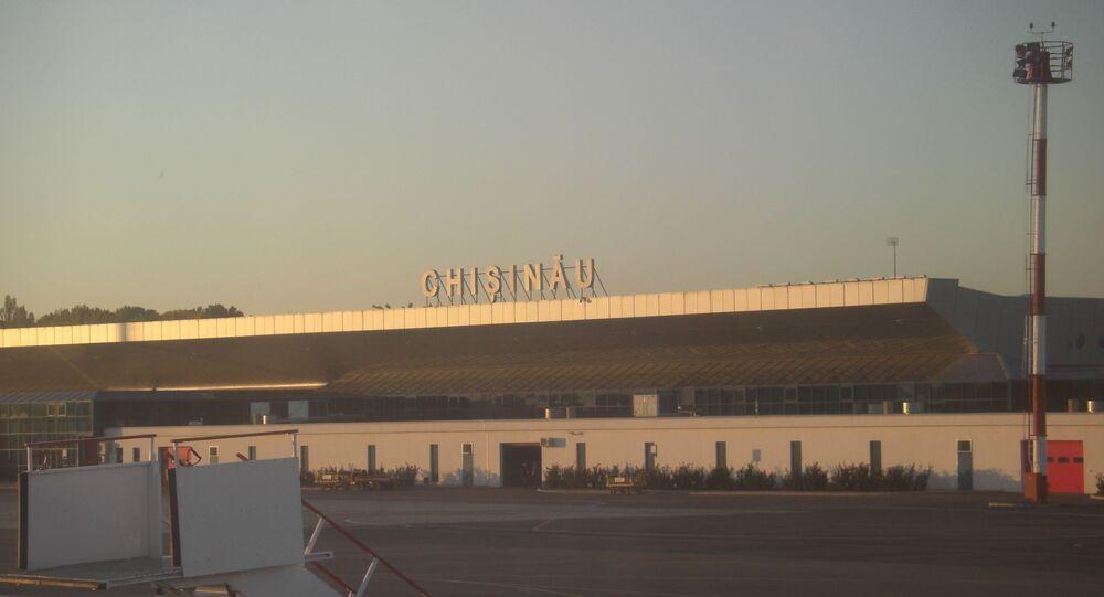 El aeropuerto de Chisinau