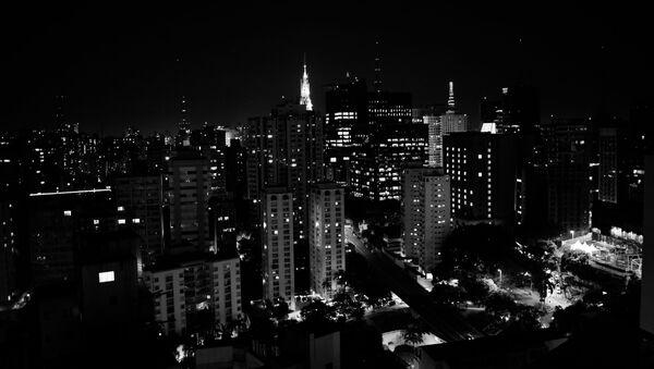 Sao Paulo de noche, referencial - Sputnik Mundo