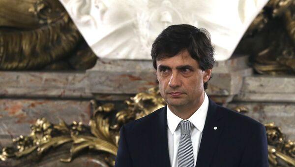 Hernán Lacunza, ministro de Hacienda de Argentina (archivo) - Sputnik Mundo