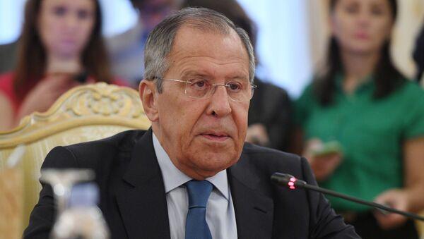 El canciller ruso, Serguéi Lavrov - Sputnik Mundo