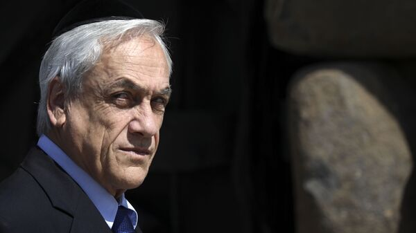 Sebastián Piñera, presidente de Chile (archivo) - Sputnik Mundo