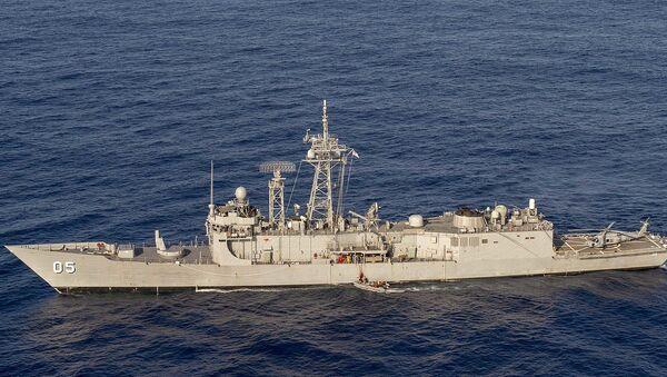 HMAS Melbourne, fragata australiana de clase Adelaide - Sputnik Mundo