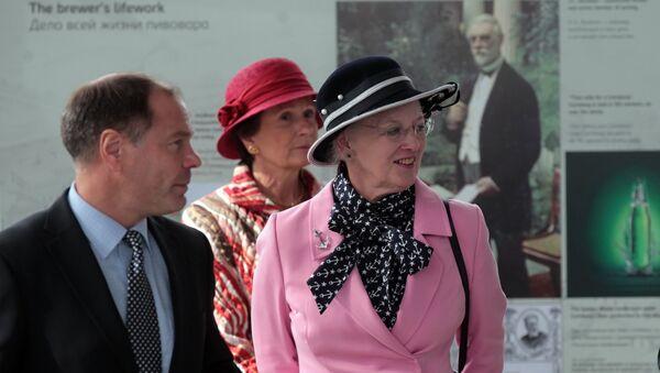 Margarita II, reina de Dinamarca - Sputnik Mundo