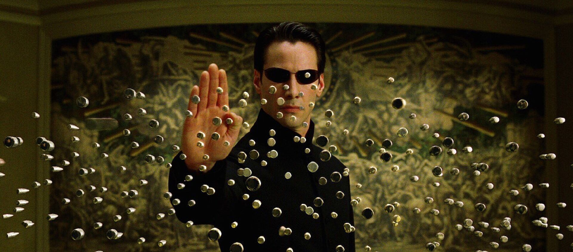 Keanu Reeves en Matrix - Sputnik Mundo, 1920, 04.12.2020