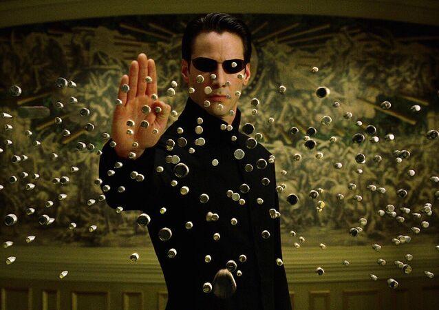 Keanu Reeves en Matrix
