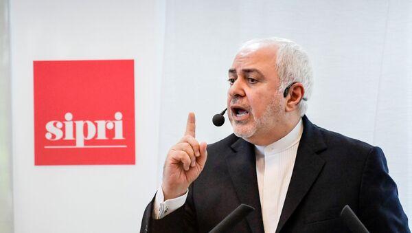 El ministro de Asuntos Exteriores de Irán, Mohamad Javad Zarif - Sputnik Mundo