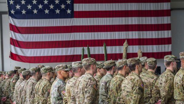 Los soldados estadounidenses en Alemania - Sputnik Mundo