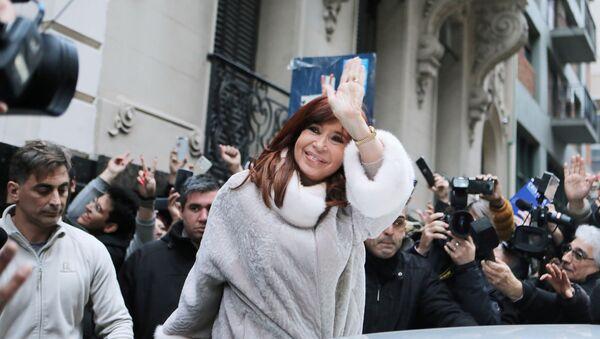Cristina Fernández Kirchner, expresidenta de Argentina - Sputnik Mundo