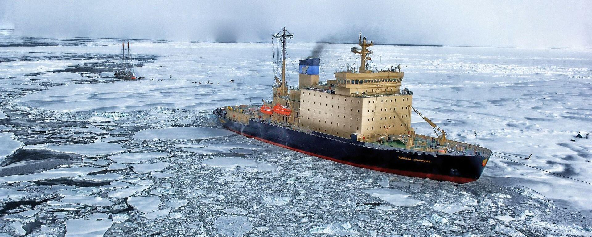 El Ártico (imagen referencial) - Sputnik Mundo, 1920, 03.02.2021