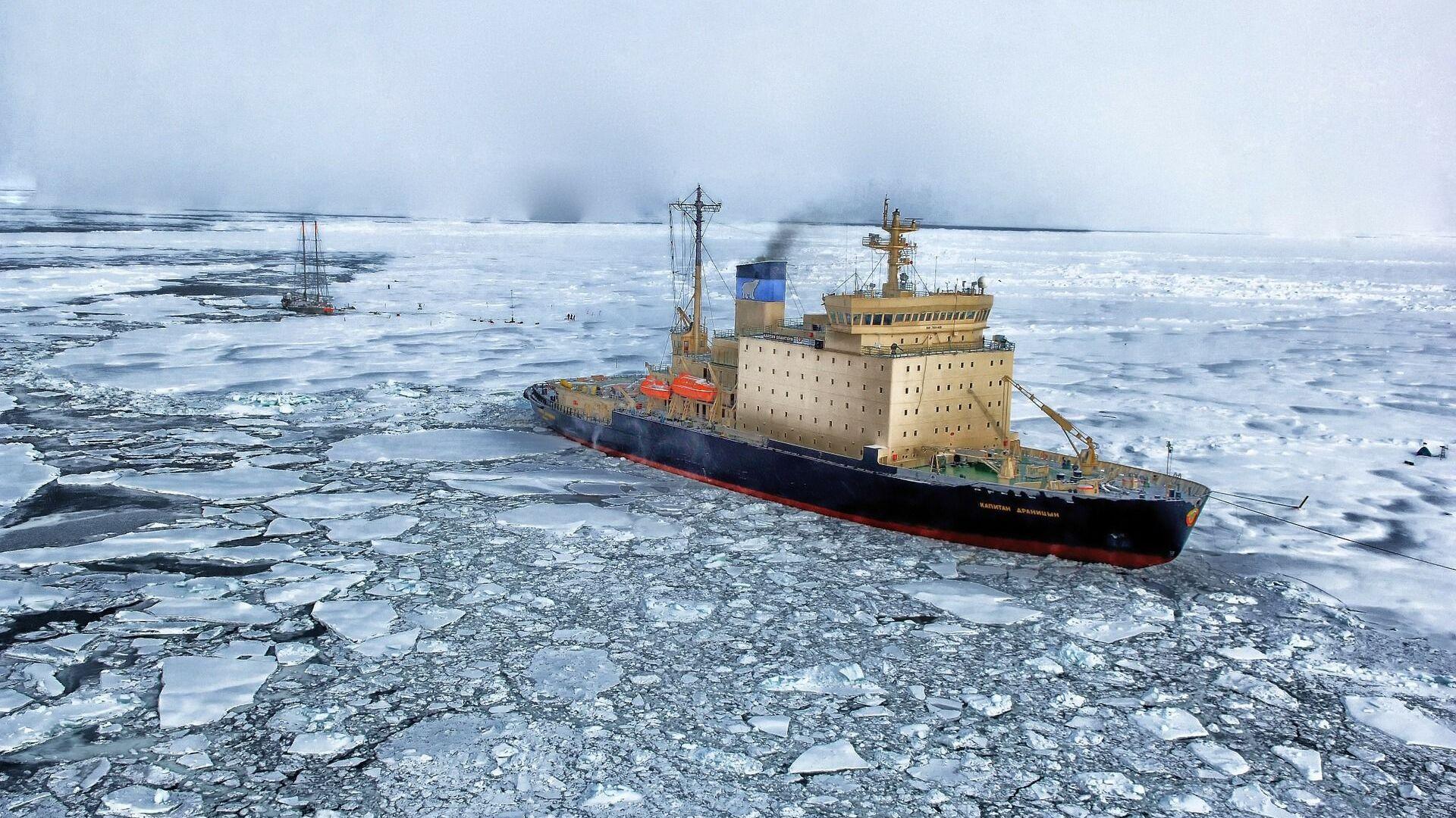 El Ártico (imagen referencial) - Sputnik Mundo, 1920, 11.05.2021