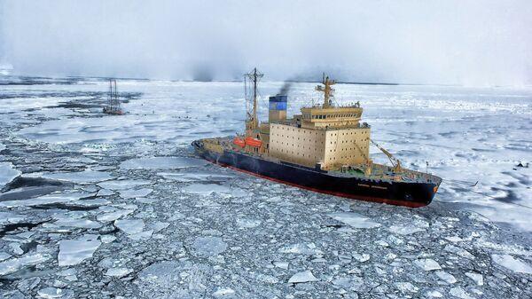 El Ártico (imagen referencial) - Sputnik Mundo
