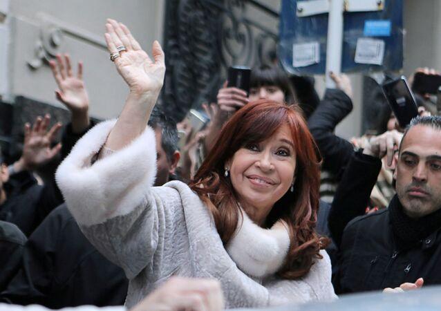 Cristina Fernández Kirchner, expresidenta de Argentina