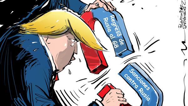¿Sanciones o G8? Trump busca la unión de lo 'inunible' - Sputnik Mundo