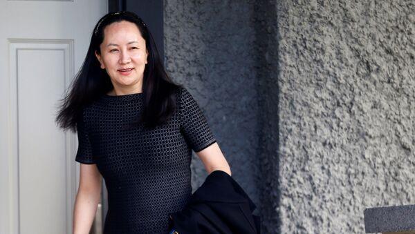 Meng Wanzhou, directora financiera de la comañía de telecomunicaciones Huawei - Sputnik Mundo