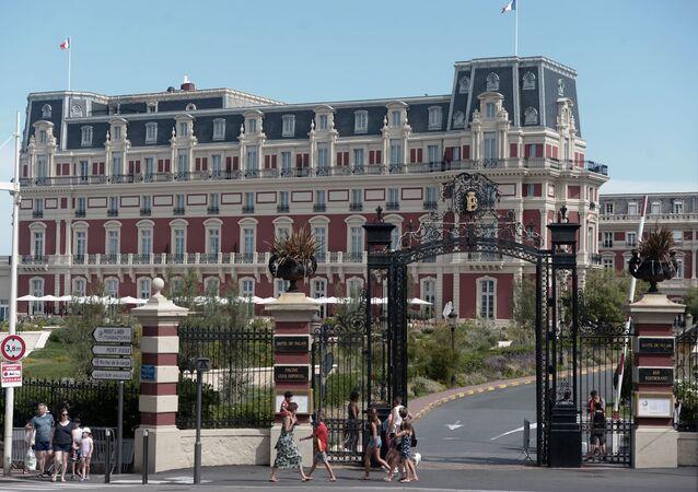 Hotel du Palais en Biarritz