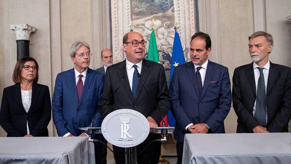 Nicola Zingaretti, líder del Partido Democráta (PD) de Italia - Sputnik Mundo