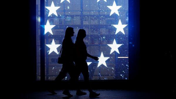 La bandera de la Unión Europea (imagen referencial) - Sputnik Mundo