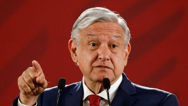 Presidente de México Andrés Manuel Lopez Obrador - Sputnik Mundo