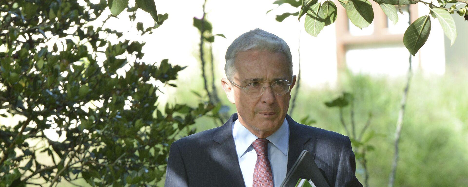 Álvaro Uribe, expresidente de Colombia - Sputnik Mundo, 1920, 24.05.2021