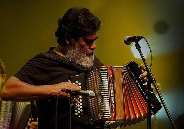 Celso Piña, acordeonista mexicano