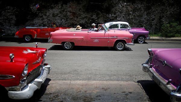 Automóviles en Cuba - Sputnik Mundo