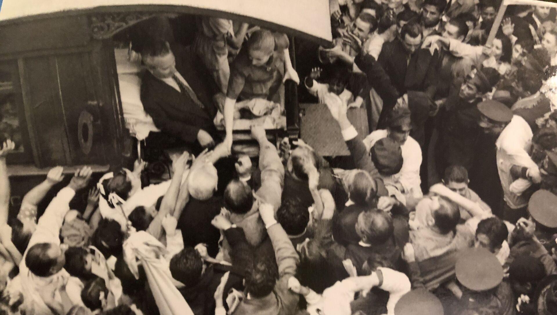 Hace 68 años, casi un millón de personas clamaron por la fórmula Perón-Perón en Argentina, Museo Evita en Buenos Aires - Sputnik Mundo, 1920, 22.08.2019