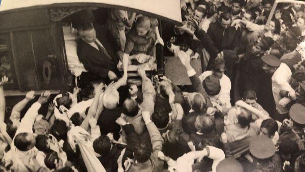 Hace 68 años, casi un millón de personas clamaron por la fórmula Perón-Perón en Argentina, Museo Evita en Buenos Aires - Sputnik Mundo