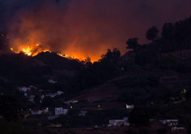 Incendio en Gran Canaria (Archivo)