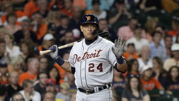 Miguel Cabrera, beisbolista venezolano - Sputnik Mundo