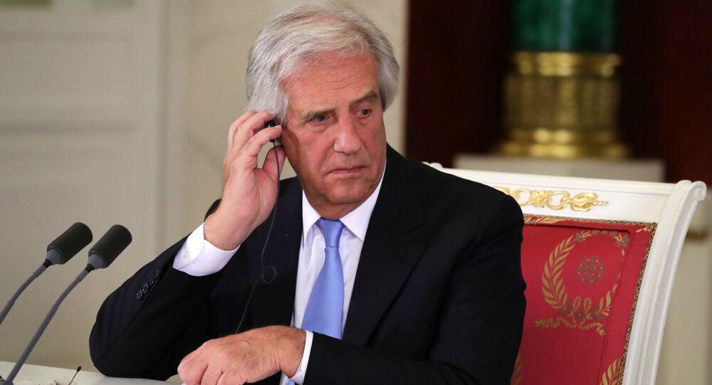 Tabaré Vázquez, el presidente de Uruguay