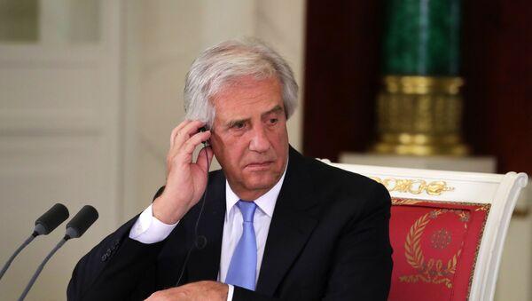 Tabaré Vázquez, el expresidente de Uruguay - Sputnik Mundo