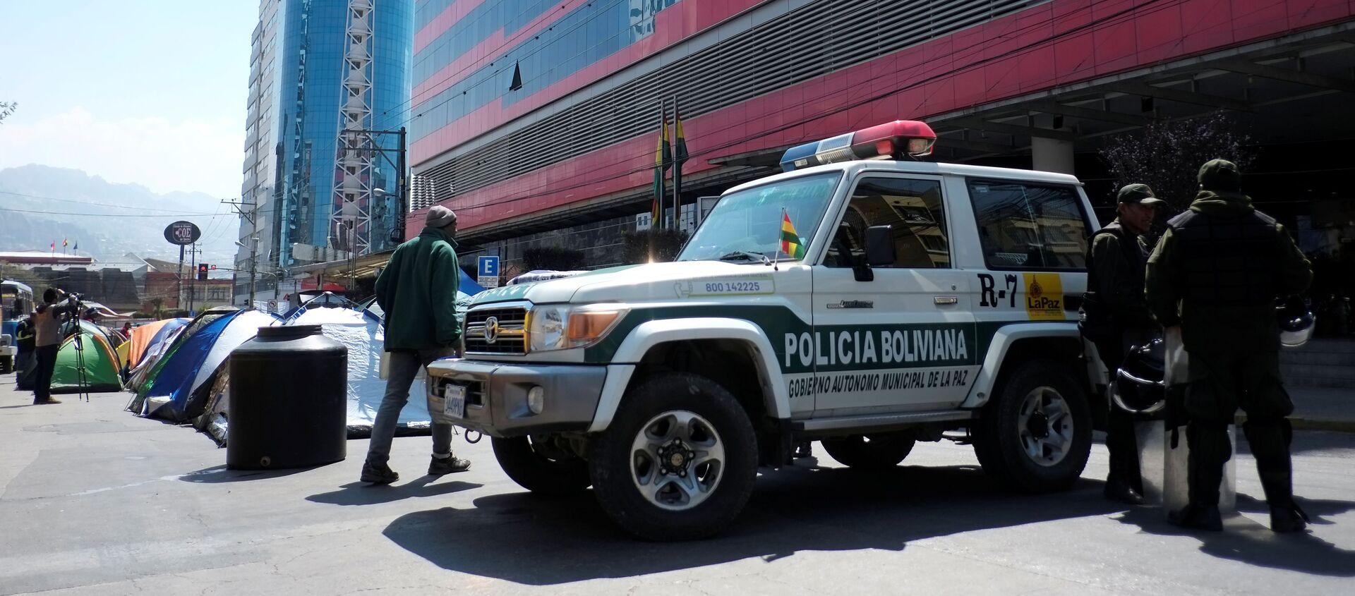 La Policía boliviana - Sputnik Mundo, 1920, 20.11.2020