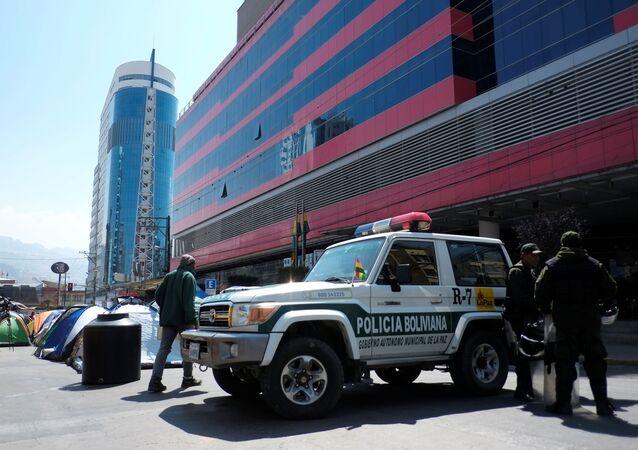 La Policía boliviana