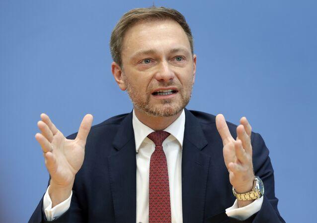 Christian Lindner, el líder del FDP