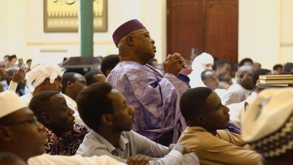 Momento de oración y culto en la mezquita Abdallah de La Habana, Cuba - Sputnik Mundo