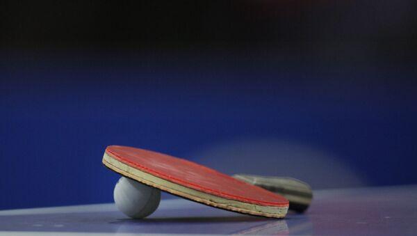 Tenis de mesa - Sputnik Mundo