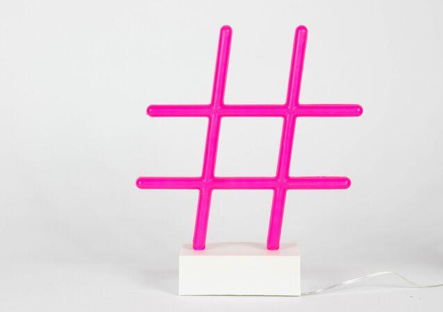 Símbolo del hashtag