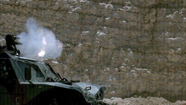 El sistema de protección activa israelí Iron Fist APS en acción - Sputnik Mundo