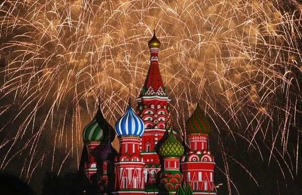 Festival de bandas militares Torre Spasskaya - Sputnik Mundo